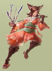 commission : Usoru by Jruva