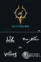 DnD: Bravedawn |  Campaign Logos + Guild Emblem by Jruva