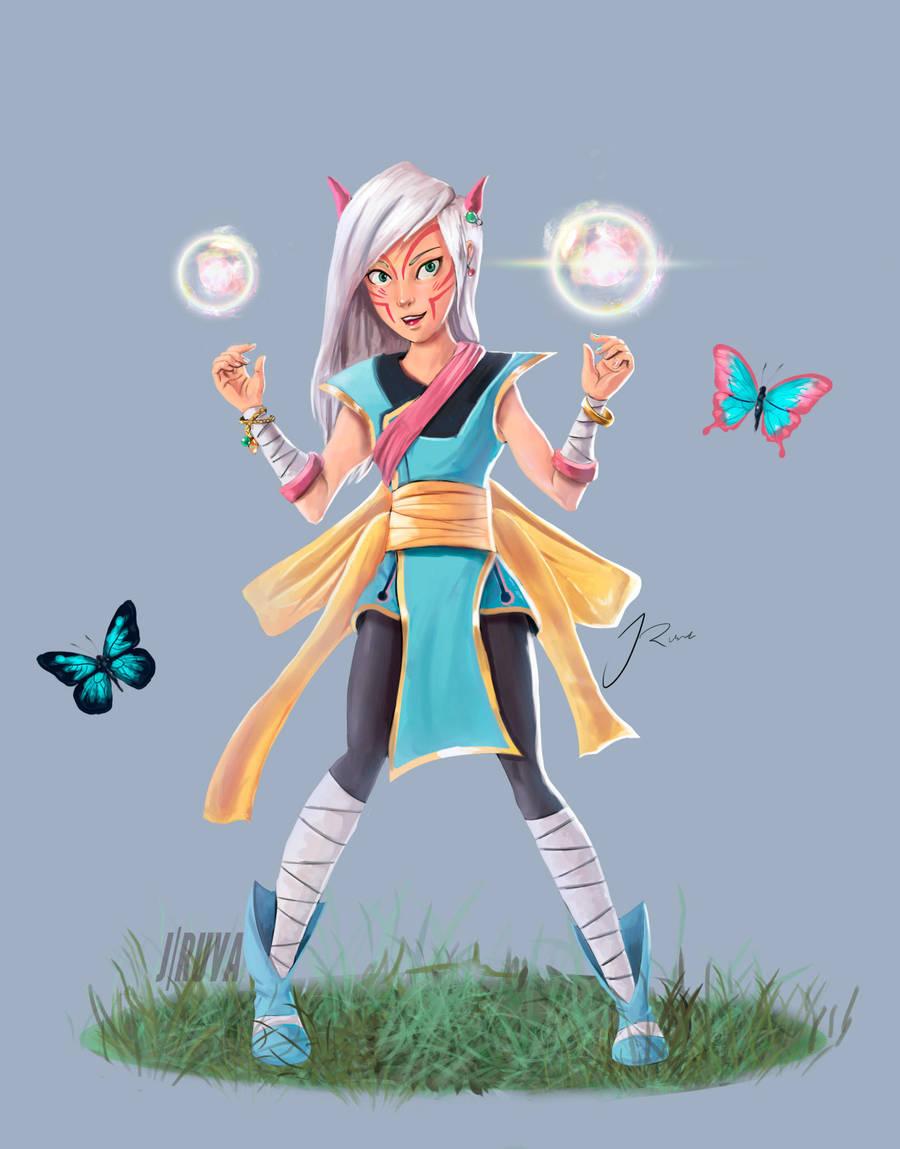 Dnd Wild Mage Sorcerer: Nabi Ryong by Jruva