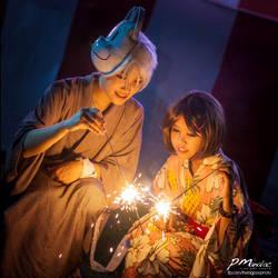 Hotaru no Mori e: Festival Fun by sabrelupe