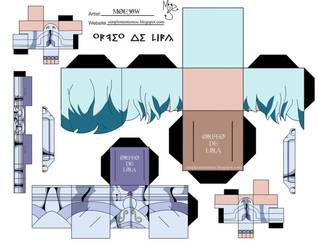 Orfeo De Lira - Cubeecraft by simplementemoe