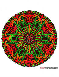 Mandala Again by Dygyt-Alice