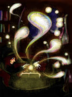 Fujimoto's Sorcerey by deerlette