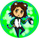 Tiger Button WIP by deerlette
