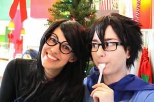 Prospit Twins be Cuties by deerlette