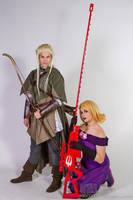Legolas and Lalonde by deerlette
