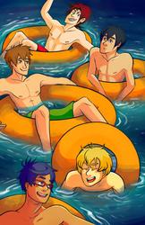 Free Floatin' by deerlette