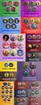 Button Dump 2015 by deerlette