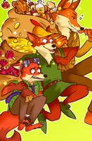 Fascinating Foxes by deerlette