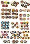 Button Dump 2016 by deerlette