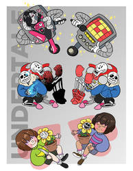Undertale Charms by deerlette