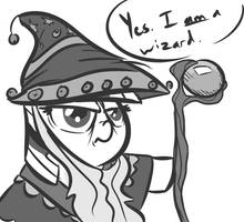 Who Here Is a Wizard? by Tess-27