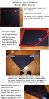 Korra Blue Fabric Thing by Naiagu
