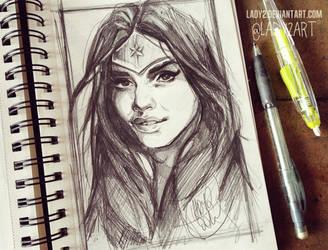 wonder_woman. by Lady2