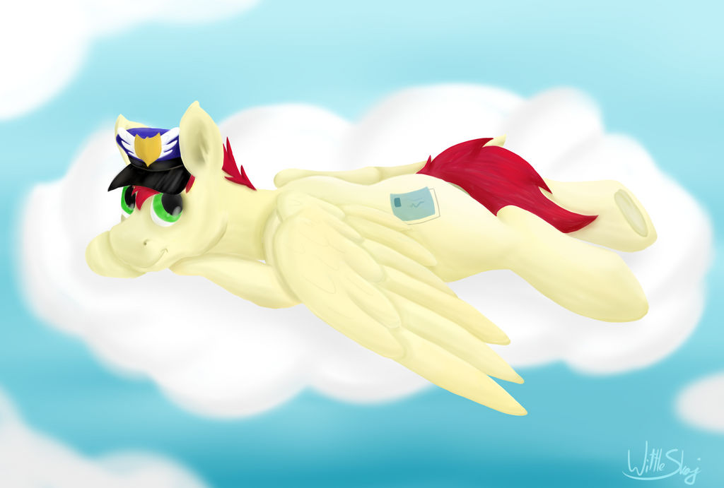 Chillin on a cloud by Saxpony