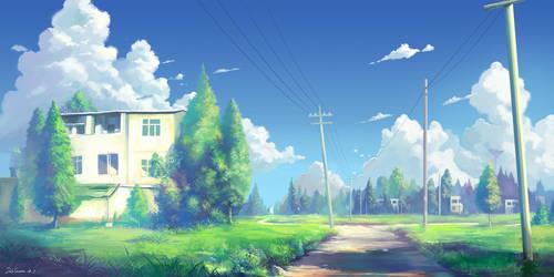 Memory of nanshou street by DaleComte