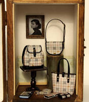 Designer Handbags Purse decorating display sets by dollhouseara