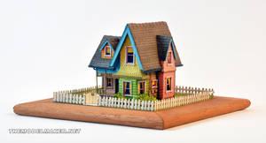 Pixar Up scale model by artmik
