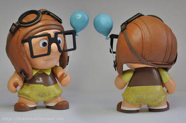 Munny young Carl from movie Up by artmik