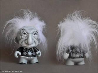 Munny Albert Einstein by artmik