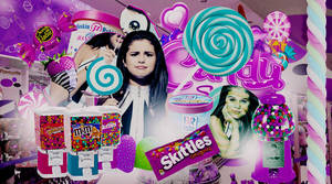 +Candy Shop | Selena Gomez by ISatQuietly