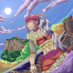 Dragon Lady: Inner Peace by Cindybrown