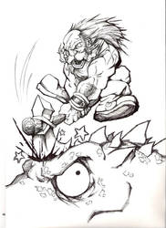 Mongo and the Dragon by Steelpengu