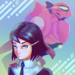 Sp//dr by mangamie