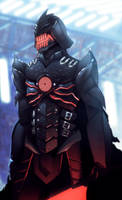 Darth Vader by mangamie