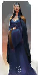 Rowena RavenClaw Fanart by mangamie