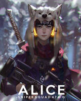 Alice the Sniper by mangamie