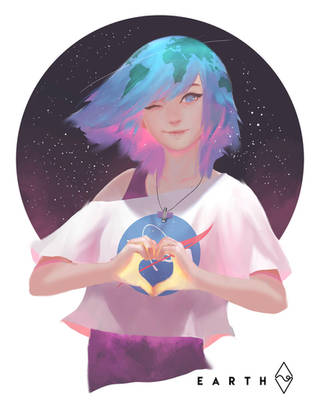 Earth Chan! by mangamie