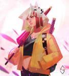 Fox Girl by mangamie