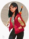 Mulan Breaks The Internet by mangamie