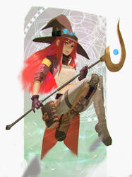Witch Witchyyy~ by mangamie