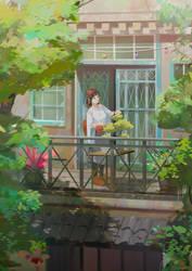 Gardening by mangamie