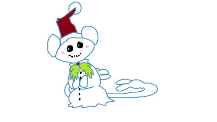 Snow Ambipom by Crixaliszt