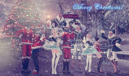 Merry X-mas by IsisCat
