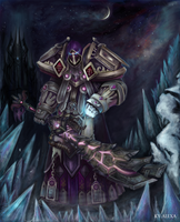 Dark Paladin by Ky-Alexa