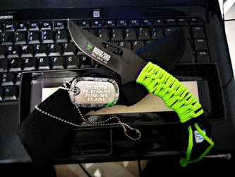 Zombie survival knife by SrReno