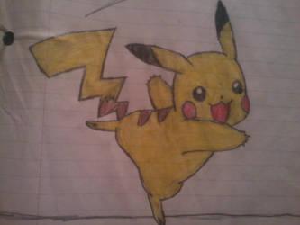 Pikachu by SnowblueXD