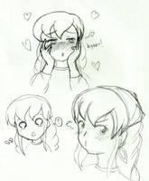 .: Sohee random faces :. by OhAnika