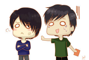 .: YunJae - I-I can explain!! :. by OhAnika