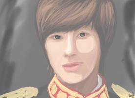 .: Yunho - Speed Paint :. by OhAnika