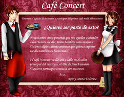 .:* Cafe Concert -Reclutamiento- *:. by OhAnika