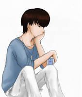 .: Sehun is sad :. by OhAnika