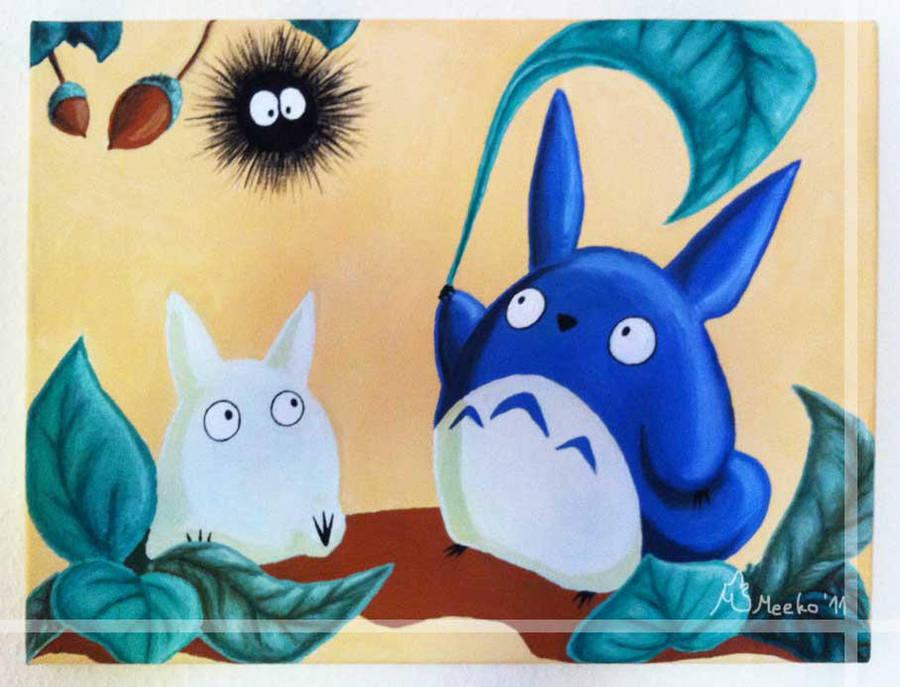My little Totoro by meeko-okeem