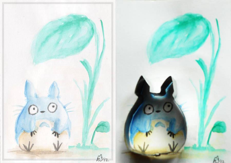 Totoro cookie cutter by meeko-okeem