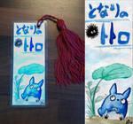 Totoro Bookmark by meeko-okeem