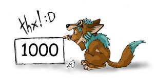 1000 by meeko-okeem